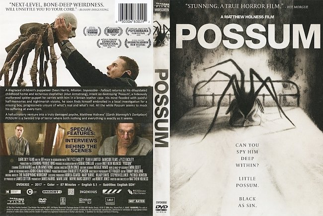 dvd cover Possum DVD Cover