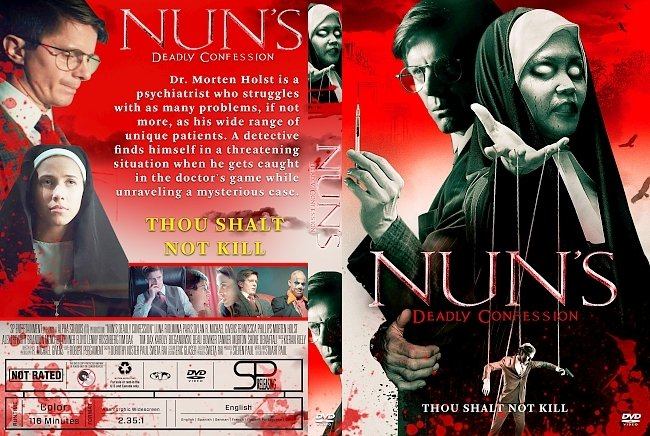 dvd cover Nun's Deadly Confession DVD Cover