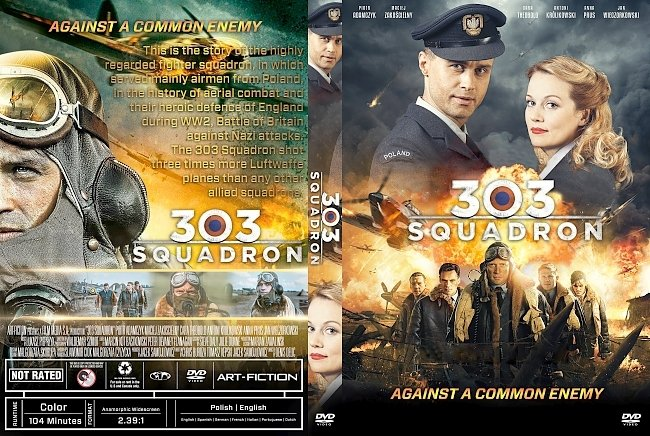 dvd cover 303 Squadron DVD Cover