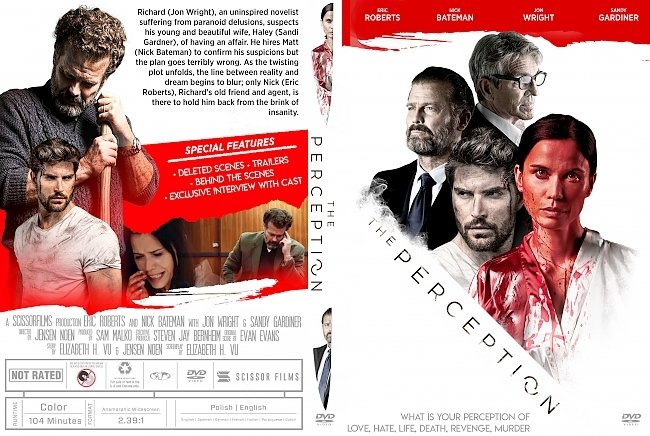 dvd cover The Perception DVD Cover