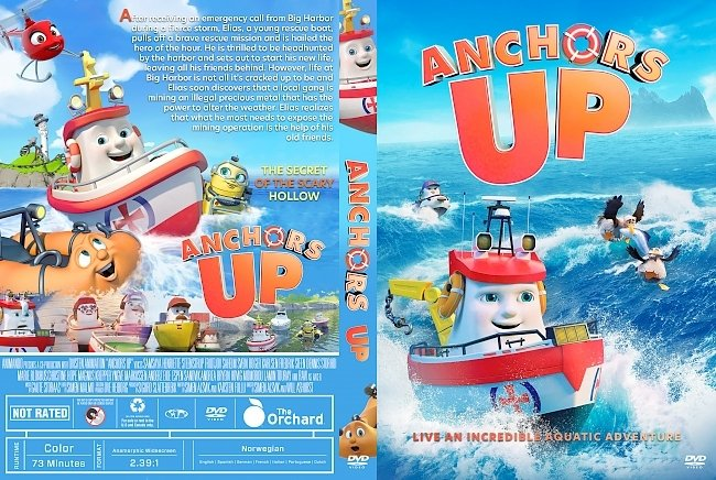 dvd cover Anchors Up DVD Cover