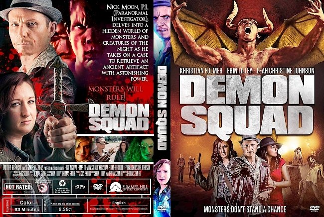 dvd cover Demon Squad DVD Cover