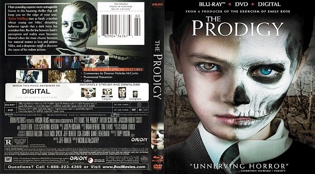 dvd cover The Prodigy Bluray Cover