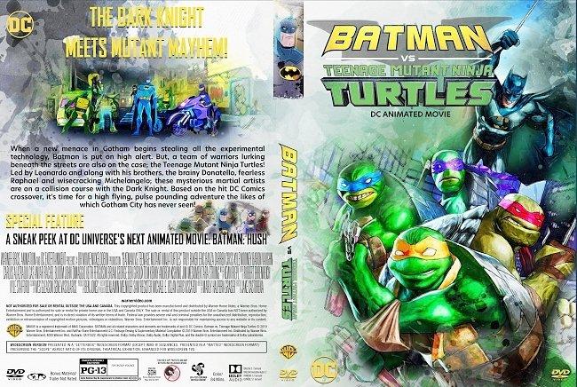 dvd cover Batman vs. Teenage Mutant Ninja Turtles DVD Cover