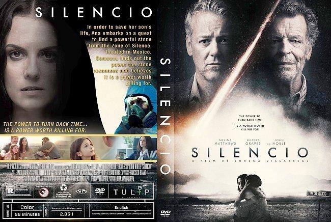 dvd cover Silencio DVD Cover