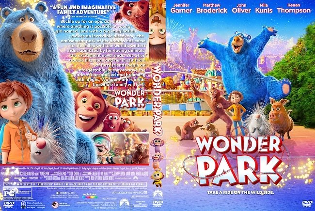 dvd cover Wonder Park DVD Cover
