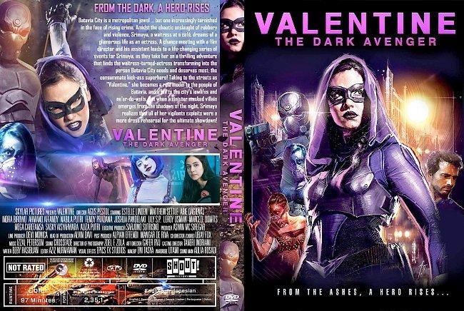 dvd cover Valentine: The Dark Avenger DVD Cover