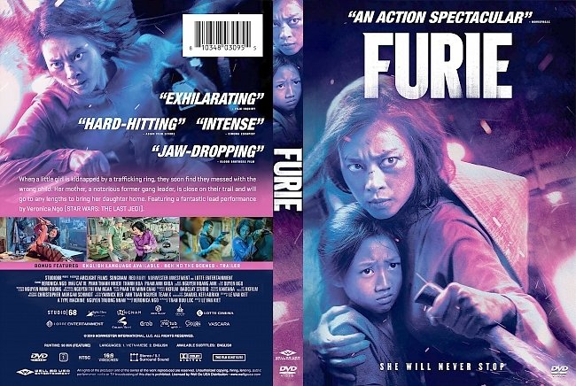 dvd cover Furie DVD Cover