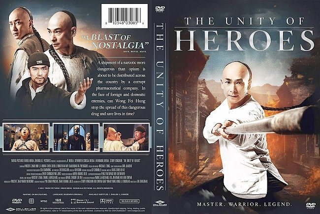 dvd cover The Unity of Heroes DVD Cover