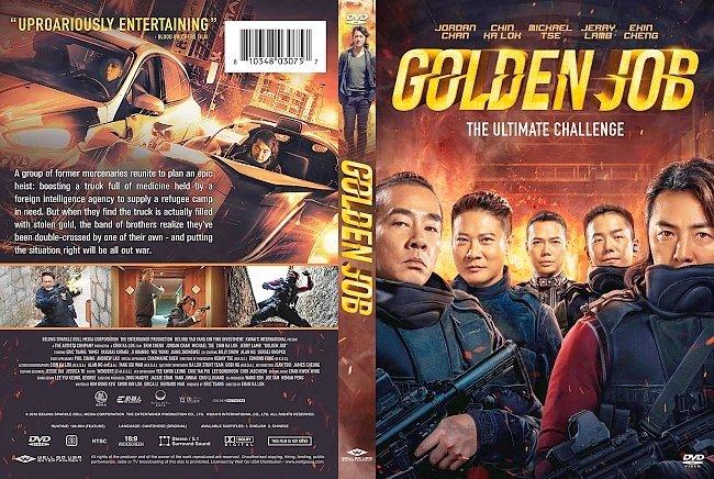 dvd cover Golden Job DVD Cover