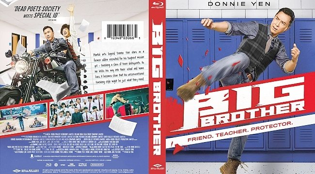 dvd cover Big Brother Bluray Cover