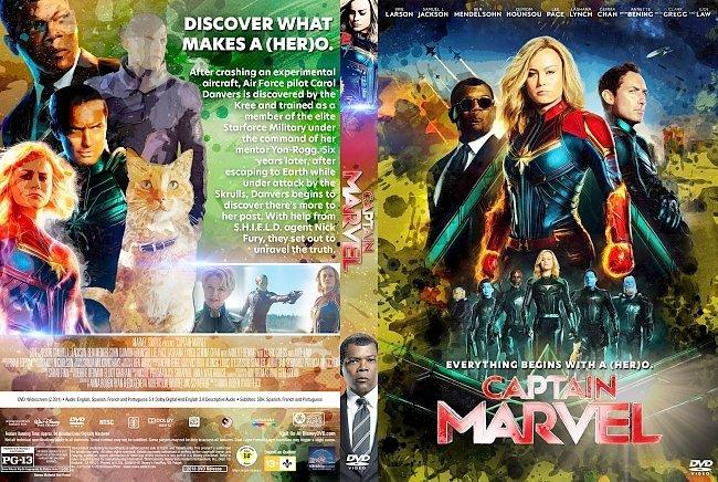 dvd cover Captain Marvel DVD Cover