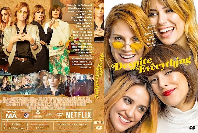 dvd cover Despite Everything DVD Cover