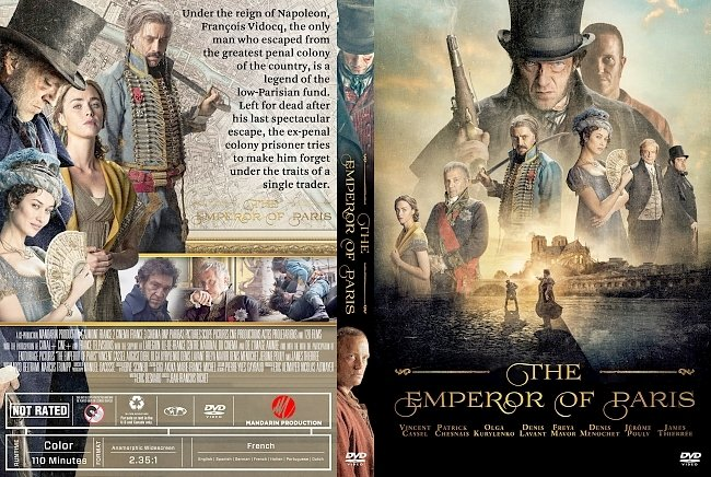 dvd cover The Emperor Of Paris DVD Cover