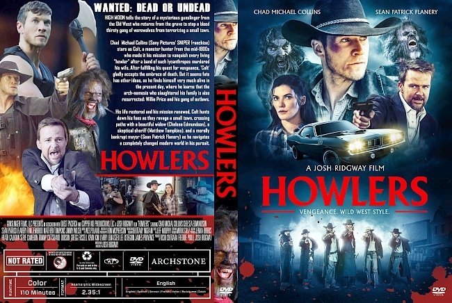 dvd cover Howlers DVD Cover