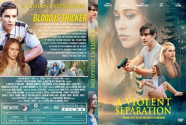 dvd cover A Violent Separation DVD Cover