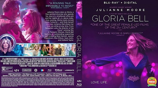 dvd cover Gloria Bell Bluray Cover
