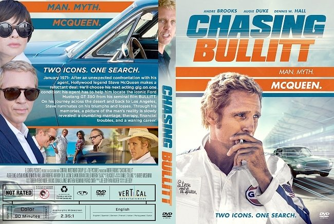 dvd cover Chasing Bullitt DVD Cover
