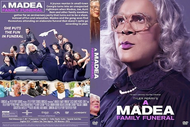 dvd cover A Madea Family Funeral DVD Cover