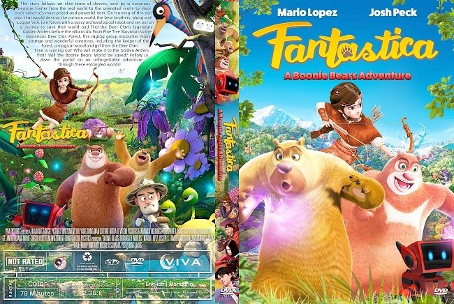 dvd cover Fantastica A Boonie Bears Adventure DVD Cover