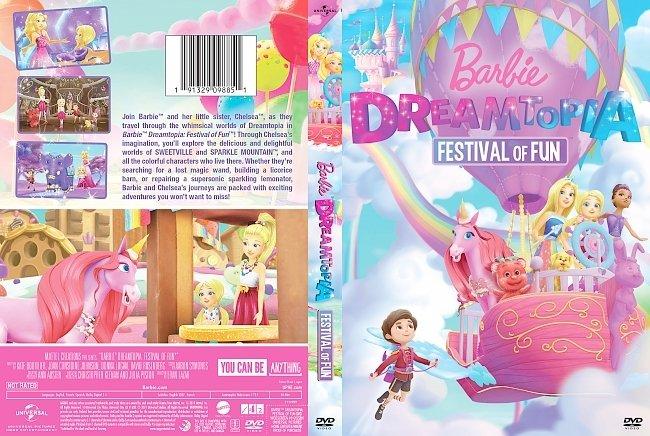 dvd cover Barbie Dreamtopia Festival of Fun DVD Cover
