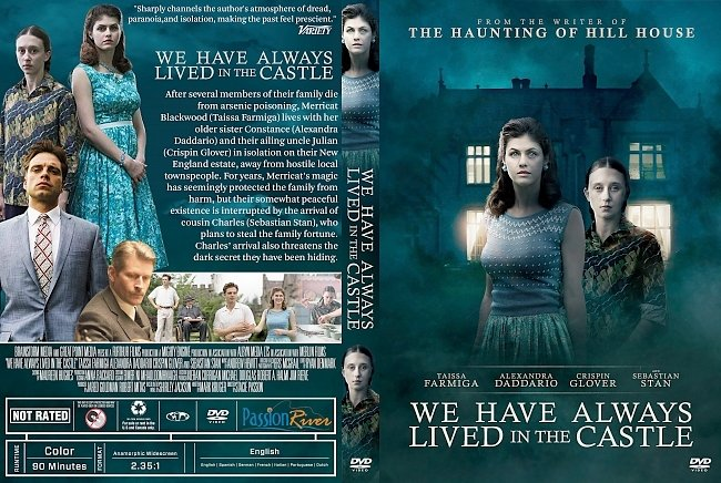dvd cover We Have Always Lived in the Castle DVD Cover