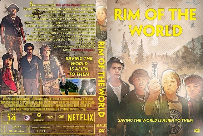 dvd cover Rim of the World DVD Cover