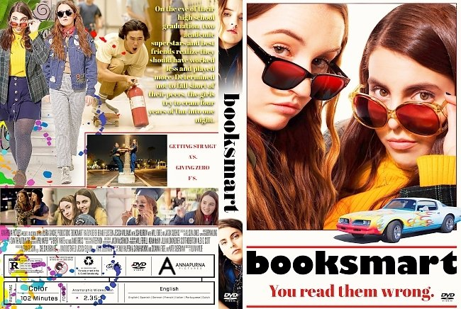 dvd cover Booksmart DVD Cover