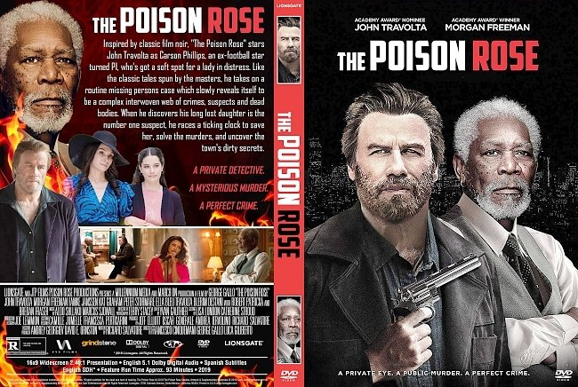dvd cover The Poison Rose DVD Cover