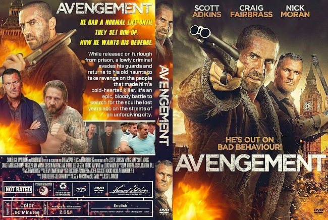 dvd cover Avengement DVD Cover
