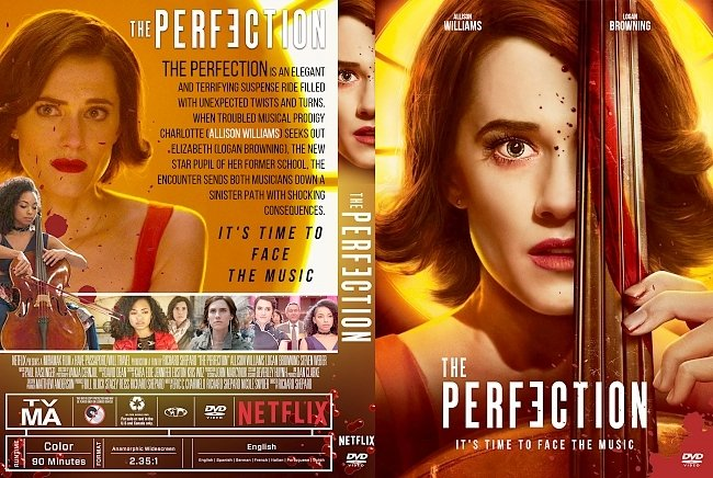 dvd cover The Perfection DVD Cover