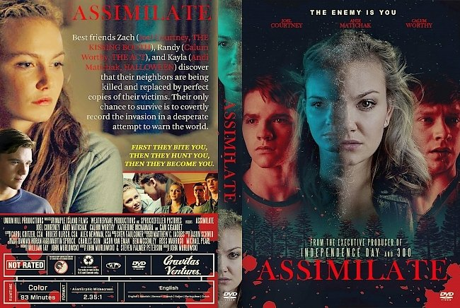 dvd cover Assimilate DVD Cover