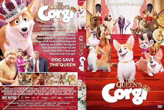dvd cover The Queen's Corgi DVD Cover