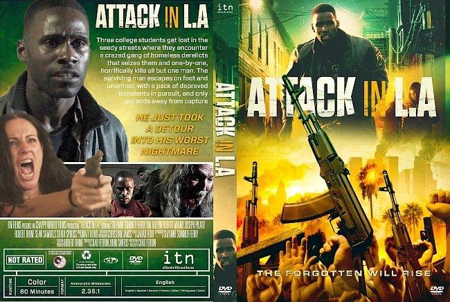 dvd cover Attack in LA DVD Cover