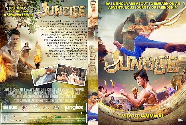 dvd cover Junglee DVD Cover