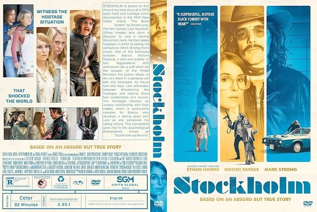 dvd cover Stockholm DVD Cover