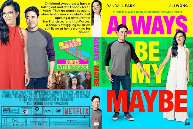 dvd cover Always Be My Maybe DVD Cover