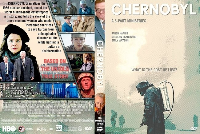 dvd cover Chernobyl The Complete Series DVD Cover