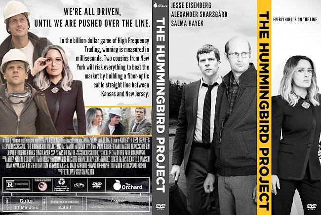 dvd cover The Hummingbird Project DVD Cover