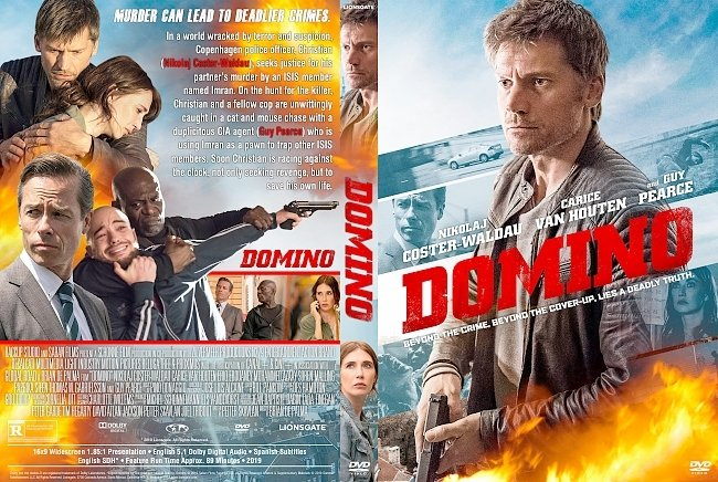 dvd cover Domino DVD Cover