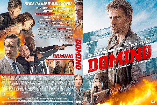 dvd cover Domino DVD Cover