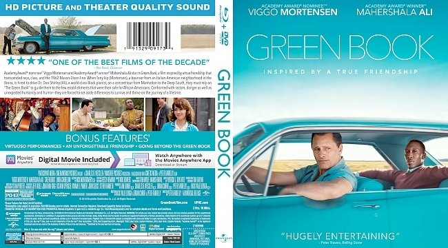 dvd cover Green Book Bluray Cover