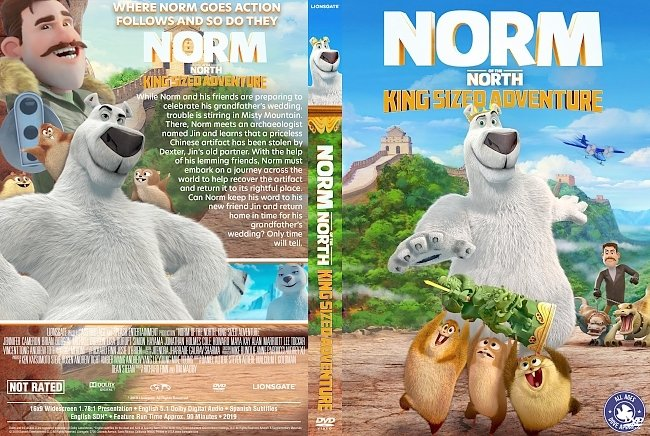 dvd cover Norm of the North King Sized Adventure DVD Cover