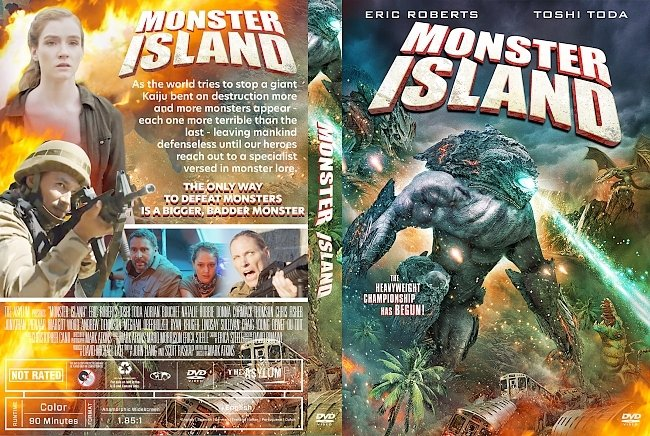 dvd cover Monster Island DVD Cover