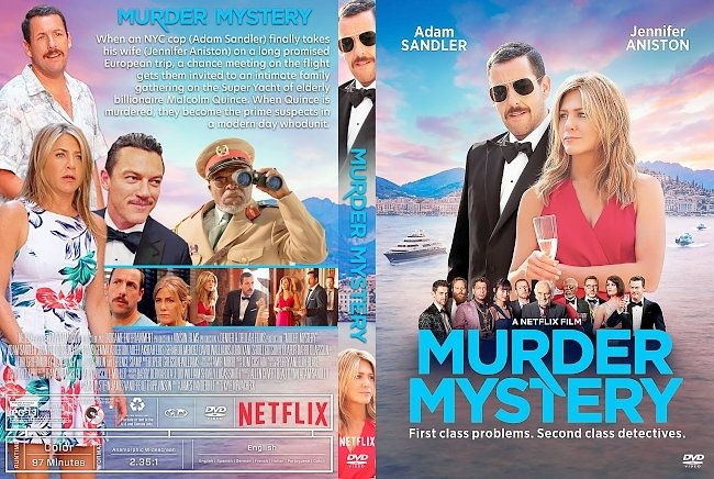 dvd cover Murder Mystery DVD Cover