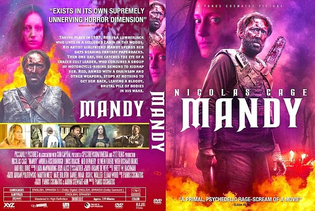 dvd cover Mandy DVD Cover