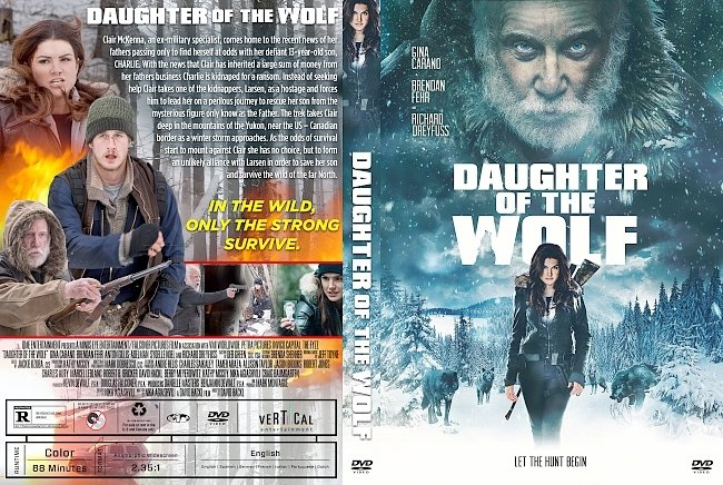 dvd cover Daughter of the Wolf DVD Cover