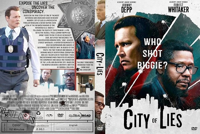 dvd cover City of Lies DVD Cover