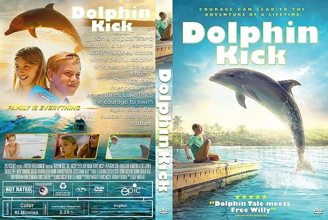 dvd cover Dolphin Kick DVD Cover
