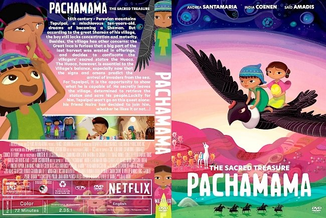 dvd cover Pachamama DVD Cover